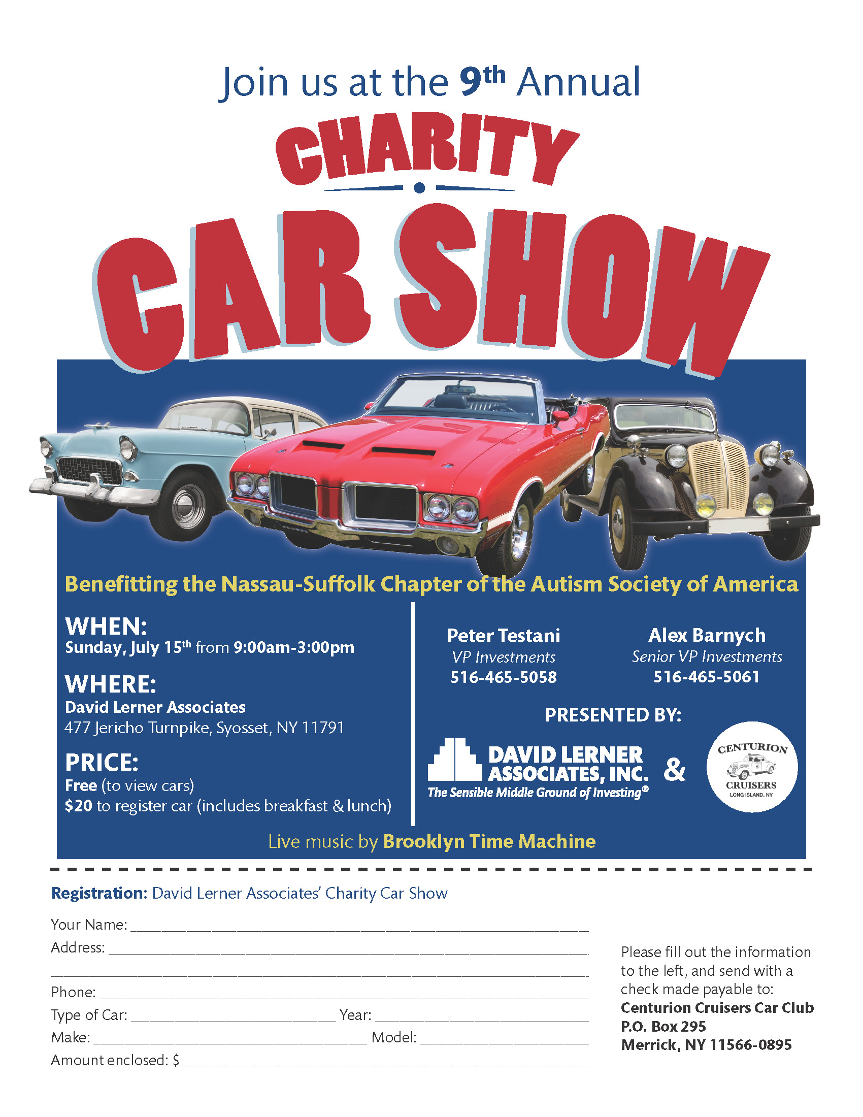 David Lerner 2018 Charity Car Show